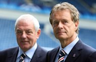 Alastair Johnston, right, launched a defence against those who accuse Rangers of cheating by cutting their wage bill through EBT's