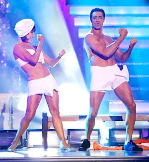 Gilles Marini Strips Down to Underwear on Dancing With the Stars