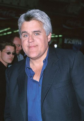 Jay Leno at the Mann's Chinese Theater premiere of Warner Brothers' Battlefield Earth