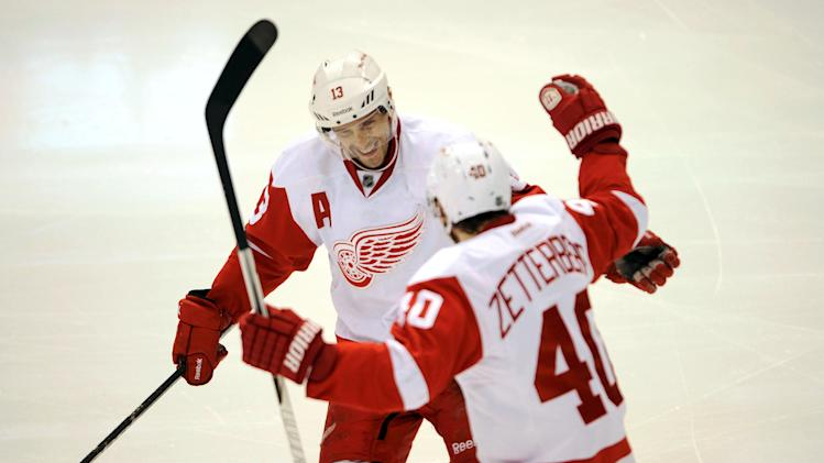 NHL: Detroit Red Wings at Dallas Stars