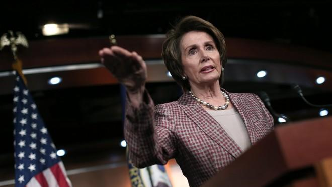 House Minority Leader Nancy Pelosi proposes raising the minimum wage to $10 an hour.