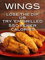 buffalo chicken wings calories