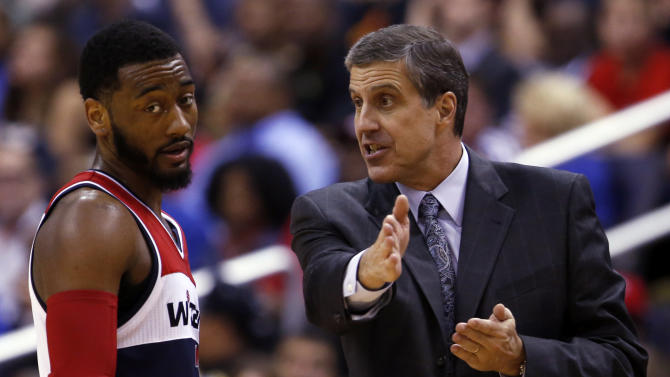 Wizards' coach Wittman finally makes the playoffs