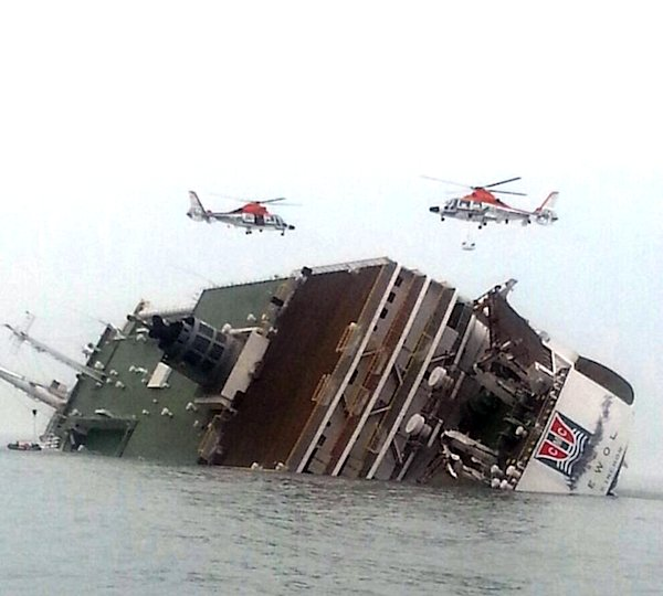 2 dead after ferry sinks off South Korean coast