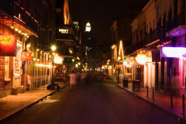 Bourbon Street, New Orleans,…