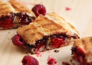 Raspberry Nutella Panini