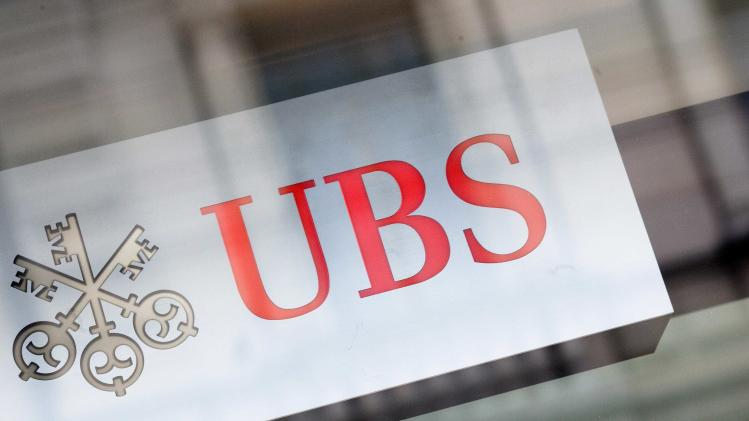 File photo of the logo of Swiss bank UBS in Zurich