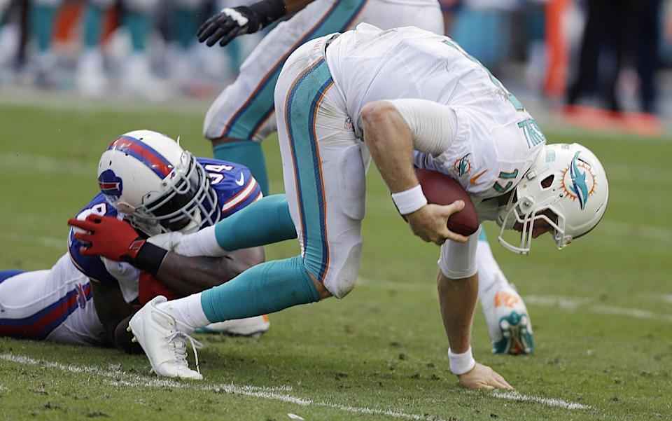 Miami's Tannehill (shoulder) probable versus Pats