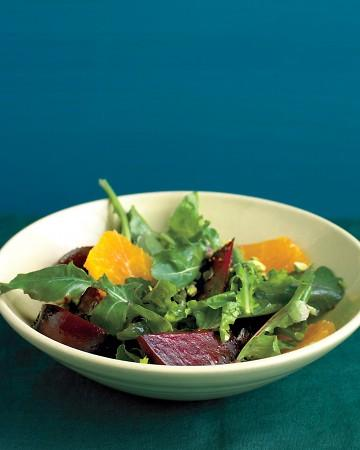 Beet Salad with Arugula and Oranges