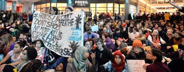 Protesters shut down section of Mall of America