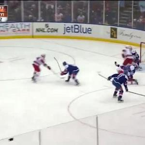 Chad Johnson Save on Jeff Skinner (07:39/3rd)