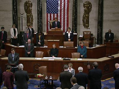 Raw: Congress Observes Moment of Silence