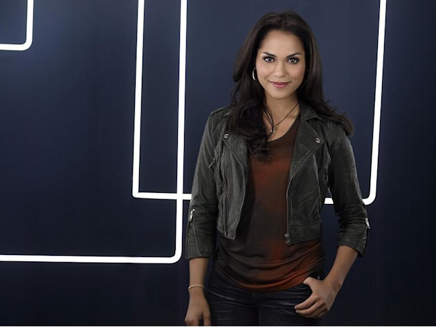 "Monica Raymund as Ria Torres in ""Lie To Me."""