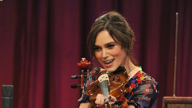 """Keira Knightley Visits """"Late Night With Jimmy Fallon"""""""