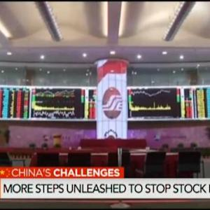 China Unveils More Steps to Stop Stock Rout