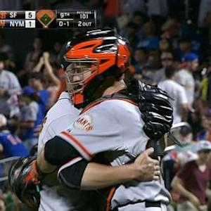 Vogelsong goes the distance