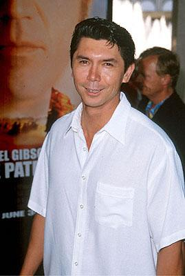 Lou Diamond Phillips at the Loews Century Plaza premiere of Columbia's The Patriot