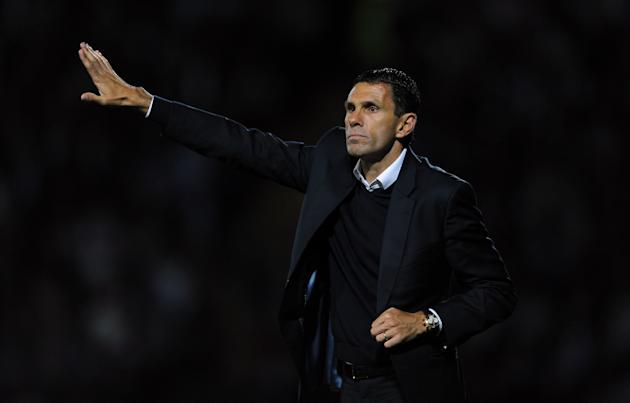 Brighton manager Gus Poyet was pleased with his side's character at Watford