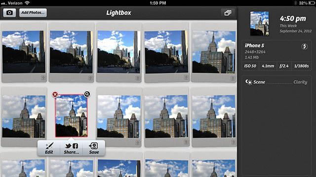Camera+ Arrives on the iPad