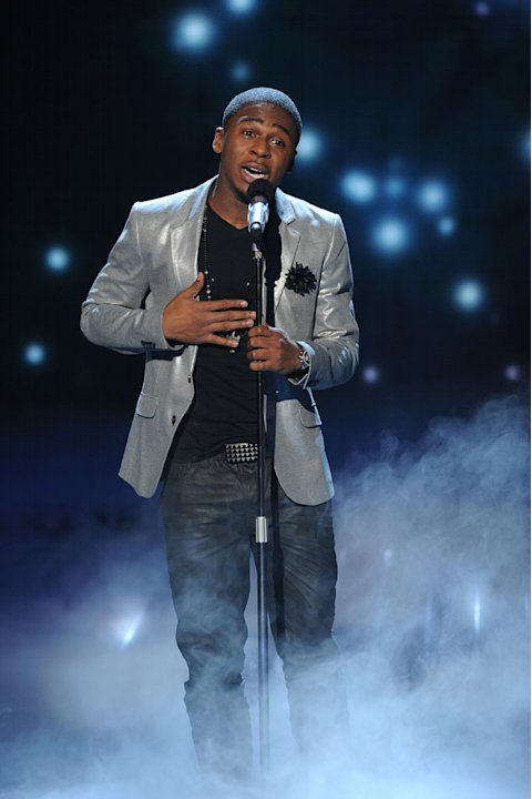 "Marcus Canty performs ""A Song for You"" by Leon Russell on ""The X Factor."""