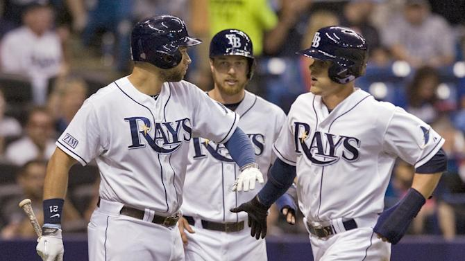 Longoria has 2 RBIs, Rays top Royals 4-3