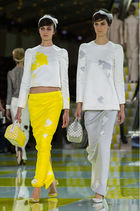 Défilé Louis Vuitton collection printemps/été 2013.
