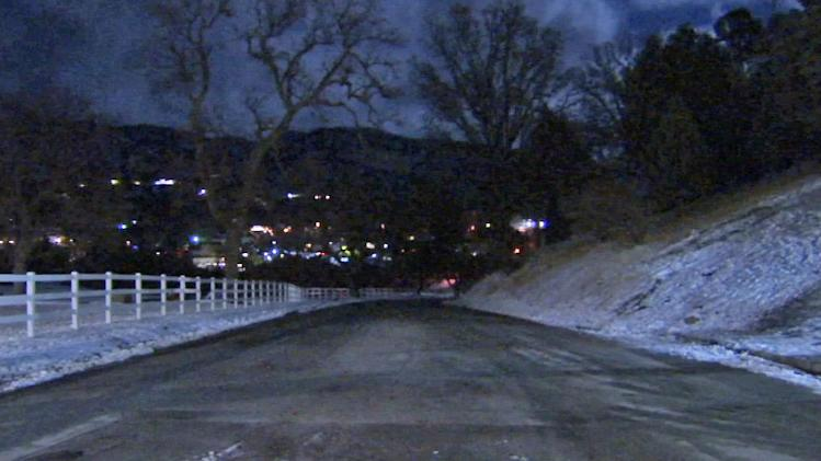 Wintry SoCal weather brings frigid temps