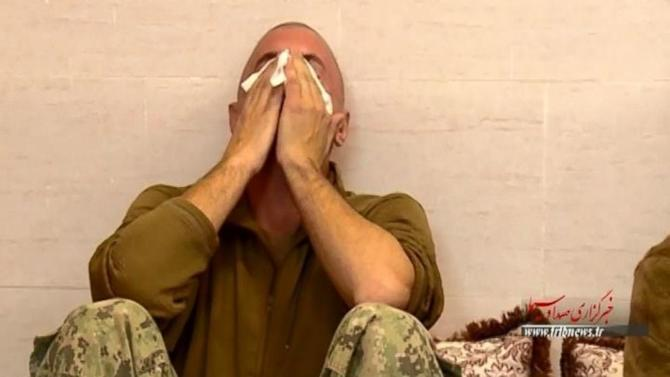 New Video From Iranian State TV Appears to Show US Sailor Crying While Detained