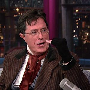 David Letterman - Stephen Colbert Doesn't Like The New Pope