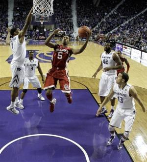 No. 16 Kansas State beats Oklahoma 69-60