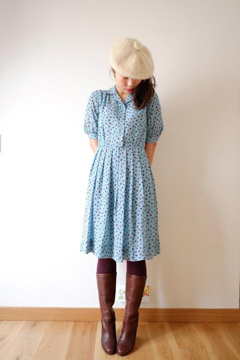 Pale Blue Spring Dress
