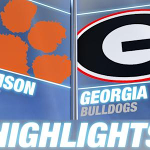 Clemson vs Georgia | 2014 ACC Football Highlights
