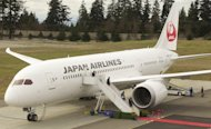The first 787 Dreamliner is delivered to Japan Airlines at Paine Field Airport in Everett, Washington on March 26, 2012. A Japan Airlines Boeing 787 that was to fly to Tokyo was grounded in Boston Tuesday following a fuel spill, one day after another plane of the same type suffered a fire, government officials said