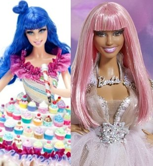 Katy Nicki Barbie