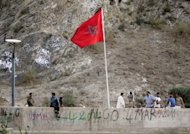 <p>A Moroccan flag sways in the wind on the Algeria-Morocco border on July 14, 2011. The medical charity Doctors Without Borders (MSF) have raised the alarm over increased violence against illegal migrants in Morocco, pointing a finger of blame at both Rabat and Madrid.</p>