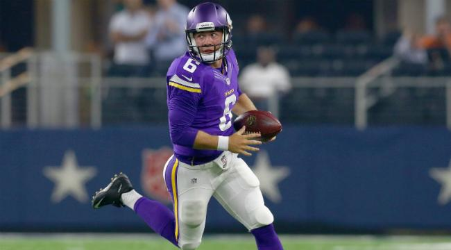 An 'Embarrassed' Vikings Quarterback Tried To Break Into His Own Home And Ended Up Requiring Surgery