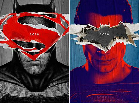 Batman v Superman Posters: See Ben Affleck, Henry Cavill Out for Vengeance