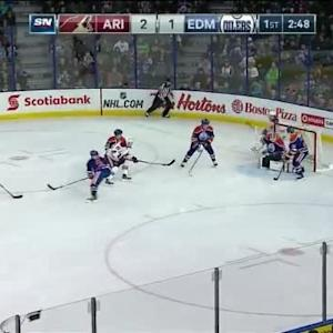 Viktor Fasth Save on Mikkel Boedker (17:15/1st)