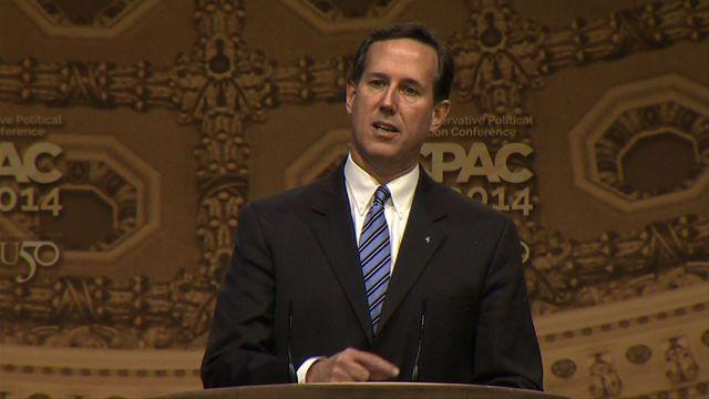 Santorum to GOP: How'd McCain, Romney work out for you?
