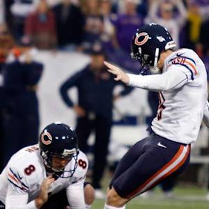 Why did the Chicago Bears attempt a field goal on second down?