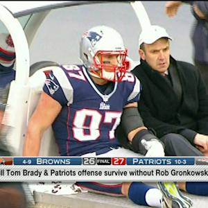 Can the New England Patriots' offense survive without tight end Rob Gronkowski?