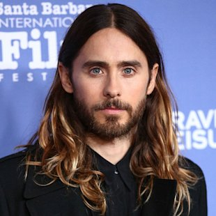 Jared Leto with long hair - celebrity men with long hair - beautiful celebrity men - celebrity beauty and hair - handbag.com