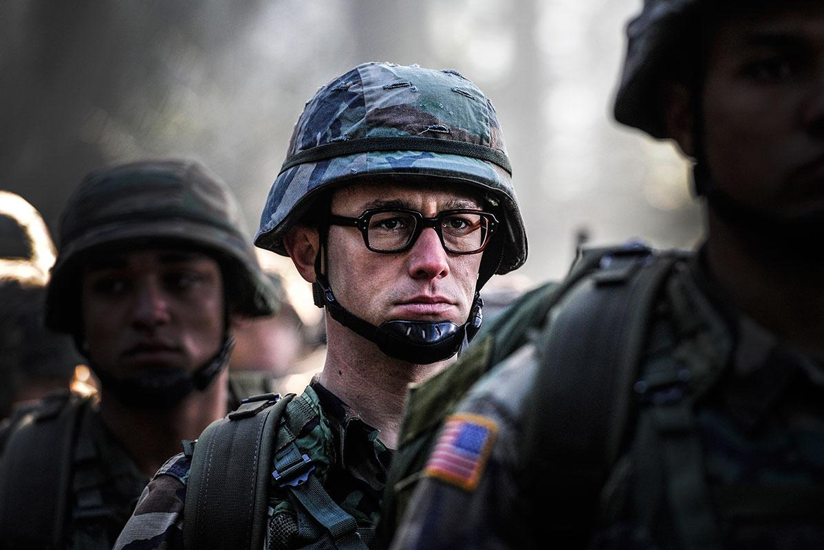 First Look: Joseph Gordon-Levitt gets in line as 'Snowden'
