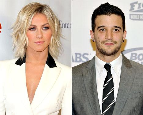 "Julianne Hough Called ""Hypocritical"" by Mark Ballas for Dancing With the Stars Critiques"
