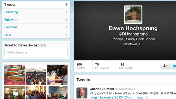 The Sandy Hook Principal's Twitter Feed Is Haunting