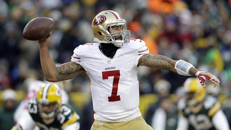 Newton on Kaepernick: 'Two different players'