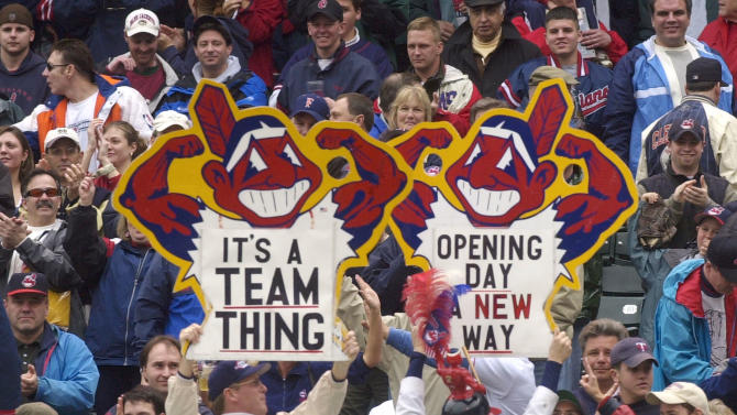 """Indians asking fans for opinion on """"Wahoo"""" logo"""