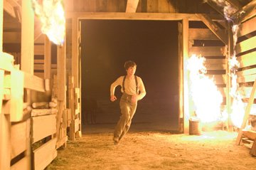 Logan Lerman in Lionsgate Films' 3:10 to Yuma