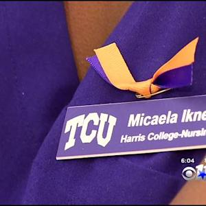 Well Wishes For Nina Pham Stretch To TCU