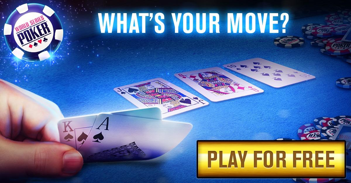 Play World Series of Poker Now Free!